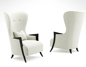 Christopher guy Chic armchair 3D model