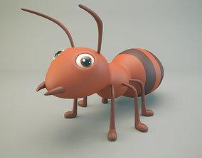 3D asset Cartoon Ant