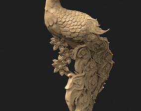 Peacock decorative 3D Model