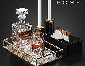 Zara Home decor set 3D