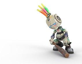 3D model Robo Punk