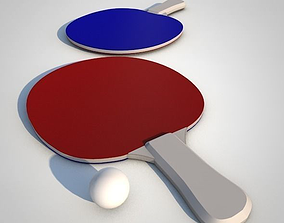 3D tabletennis Ping Pong Paddle