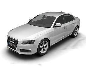 Audi A4 2008 3D model