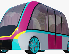3D model Minibus generic V