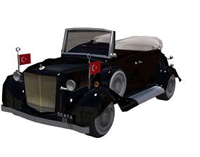 Ataturk Car 3D asset