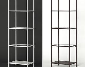 stand 3D IKEA VITTSJO Shelf unit narrow