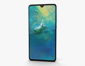 3D model Huawei Mate 20 Twilight