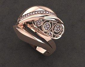 jewelry fantasy ring 3D printable model