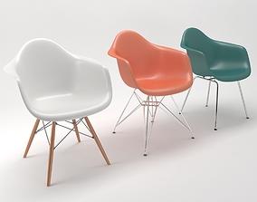 vitra armchairs 3D