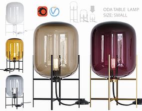 3D model Oda table lamp