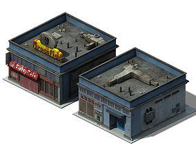 Future World - Business District 02 3D model