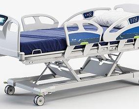 3D model Hospital bed medical