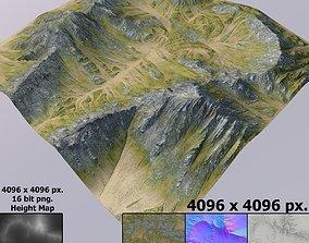 3D Lowpoly Terrain MT007