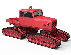 3D model Tucker Sno-Cat 442a