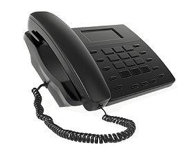 office button phone 3D
