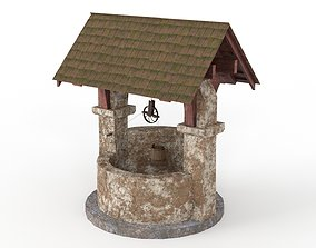 3D model Old Stone Well