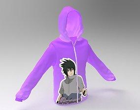 3D hoodie - 2 Models character