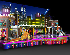 3d musical stage design
