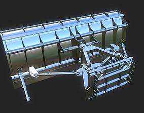 3D model Snow plow Tractor Parts Hardsurface
