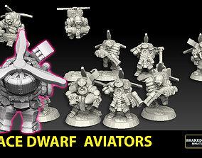 Space Dwarf Aviators 3D printable model
