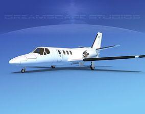 Cessna 500 Citation I V00 3D model
