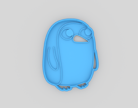 3D printable model Adventure time Gunter cookie cutter