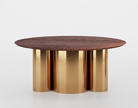 3D model Coffee table Pure small Enjoy Home Cozy Nude