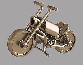 Toy motorbike 3D printable model