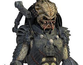 3D rigged Predator