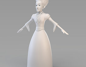 3D model Cartoon Old Princess