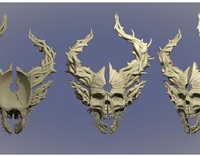 skull for 3d print