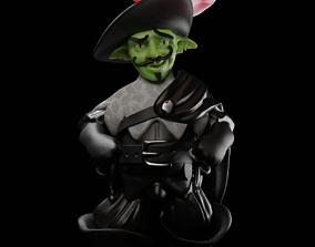 3D print model RIP Mantrapper Goblin Swashbuckler Rogue