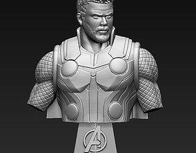 3D printable model Thor Bust