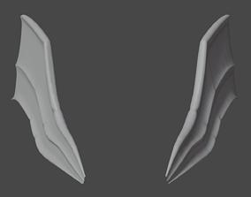 Bat Wings 3D model realtime