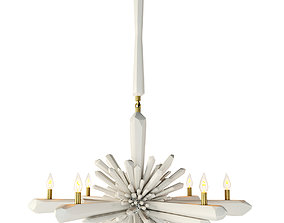 3D Facet Chandelier by Global Views