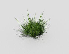 Grass 3D model low-poly