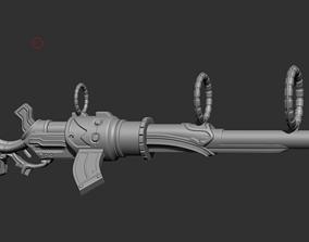 3D printable model Cosplay Props - Caitlyn Gun League Of