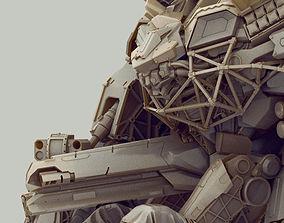 titan 3D model