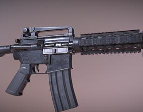 M4 Rifle 3D asset VR / AR ready