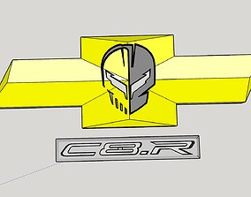 C8 Garage Art 3D printable model