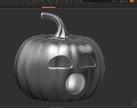 3D printable model halloween pumpkin 16