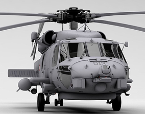 MH-60R Danish Seahawk Navy Helicopter navy 3D