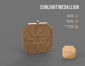 Sunlight Medallion 3D printable model