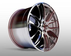 3D model Car Wheel - Micro 111 Rims
