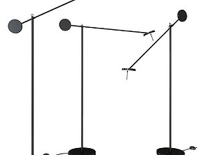 Floor lamp GROK INVISIBLE INVISIBLE 2700K 3D model