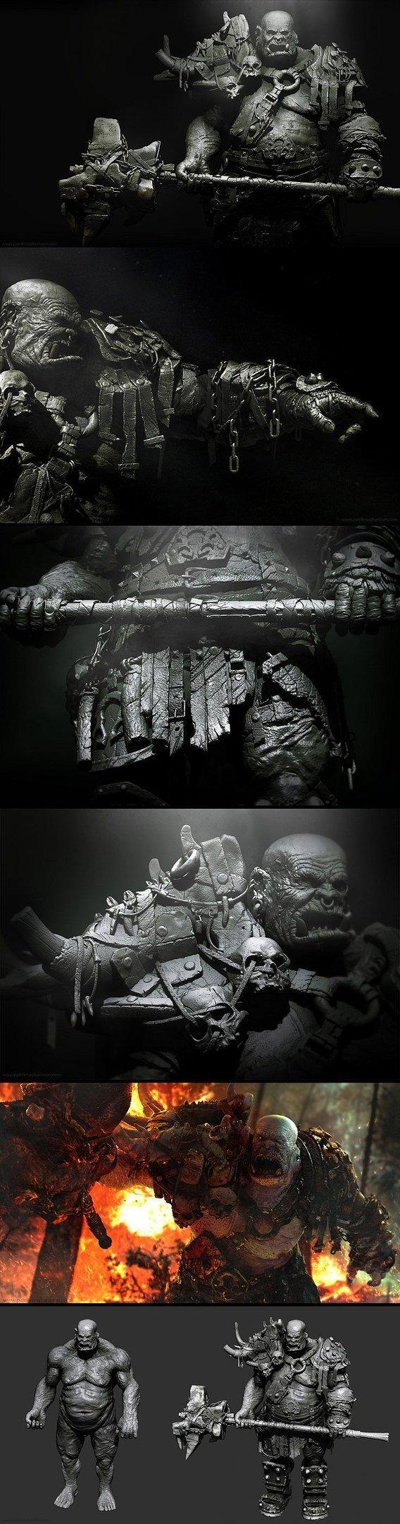 Veteran Orc Commander