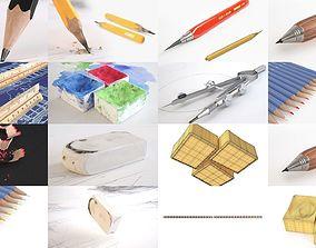 3D Desk Accessories Pack