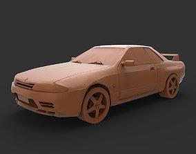 NISSAN SKYLINE GTR 3D printable model