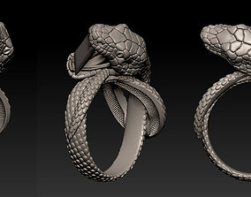 Snake Ring 3D printable model anaconda