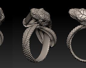 Snake Ring 3D printable model anaconda